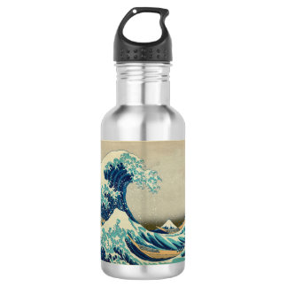 The Great Wave off Kanagawa 532 Ml Water Bottle