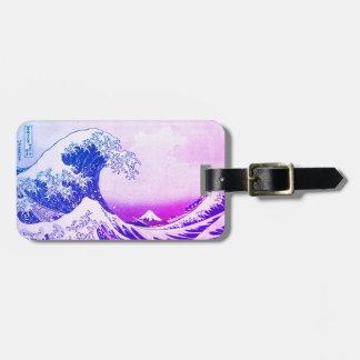 The Great Wave Off Kanagawa Bag Tag