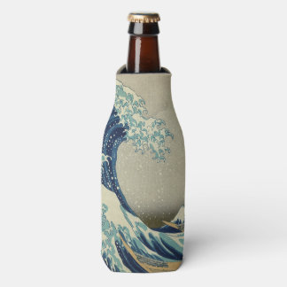The Great Wave off Kanagawa Bottle Cooler