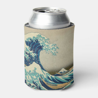 The Great Wave off Kanagawa Can Cooler