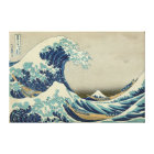 The Great Wave off Kanagawa Canvas Print