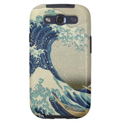The Great Wave off Kanagawa Galaxy S3 Cover