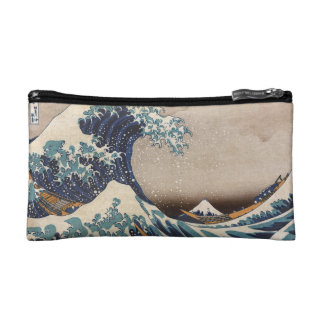The Great Wave off Kanagawa Cosmetic Bag