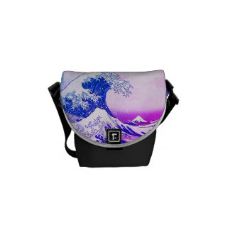 The Great Wave Off Kanagawa Courier Bags