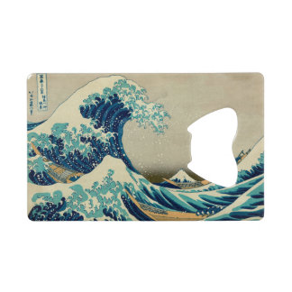 The Great Wave off Kanagawa Credit Card Bottle Opener