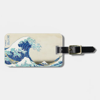 The Great Wave off Kanagawa Custom Luggage Tag