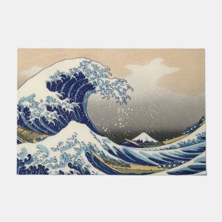 The Great Wave Off Kanagawa Doormat