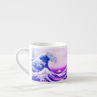 The Great Wave Off Kanagawa Espresso Cup
