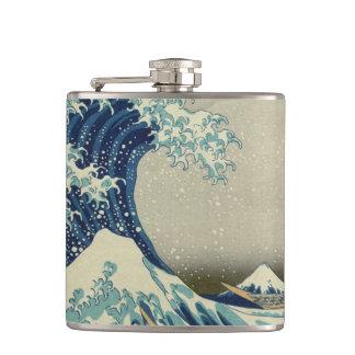 The Great Wave off Kanagawa Flasks