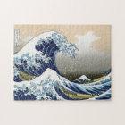 The Great Wave Off Kanagawa Jigsaw Puzzle