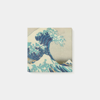 The Great Wave Off Kanagawa Kanagawa-oki Nami Ura Post-it® Notes