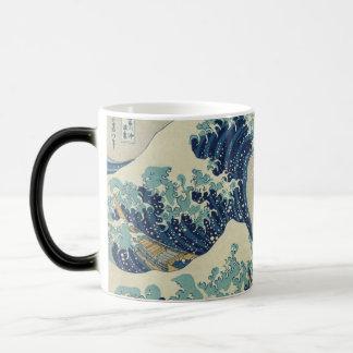The Great Wave off Kanagawa Magic Mug
