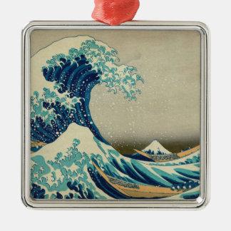 The Great Wave off Kanagawa Metal Ornament