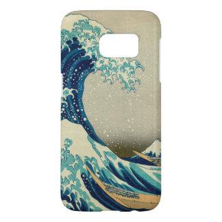 The Great Wave off Kanagawa Mount Fuji Japan Samsung Galaxy S7 Case