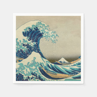 The Great Wave off Kanagawa Paper Napkins