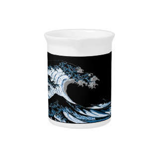 The Great Wave off Kanagawa Pitcher