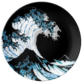 The Great Wave off Kanagawa Plate