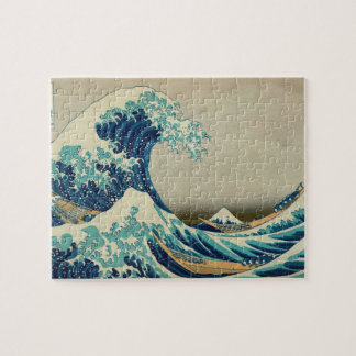 The Great Wave off Kanagawa Puzzles