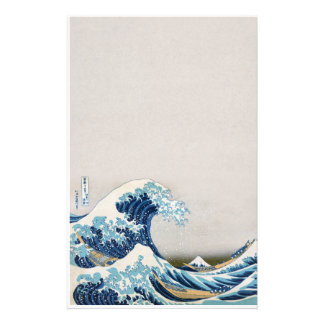 The Great Wave off Kanagawa Stationery