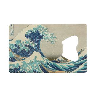 The Great Wave off Kanagawa Wallet Bottle Opener