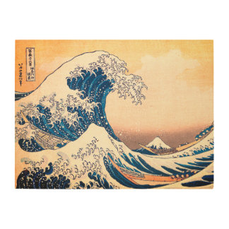 The Great Wave Off Kanagawa Wood Wall Decor
