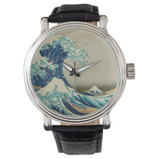 The Great Wave off Kanagawa Wristwatches