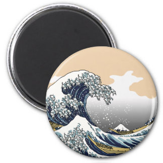 The Great Wave Off Katagawa Magnet
