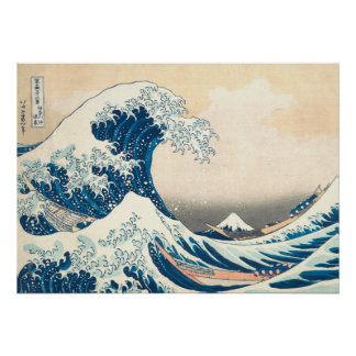 The Great Wave Off of Kanagawa Poster