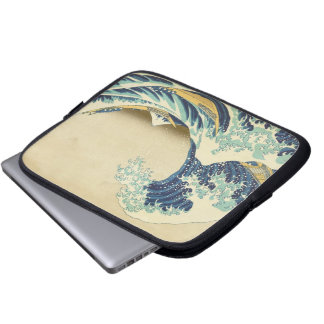 The Great Wave Off Shore of Kanagawa Laptop Case