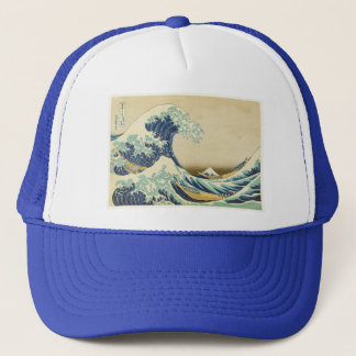 The Great Wave Off Shore of Kanagawa Trucker Hat