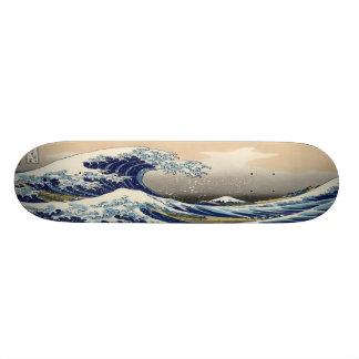 The Great Wave Skate Decks