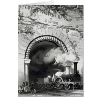 The Great Western Railway, 1846 Card