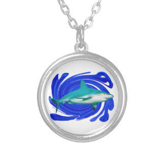 The Great White Silver Plated Necklace