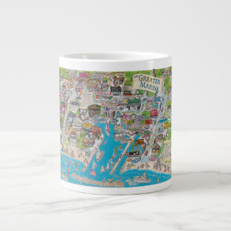 The Greater Marina Giant Coffee Mug