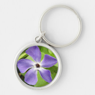 The Greater Periwinkle Key Ring