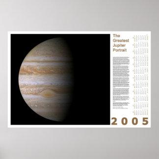 The Greatest Jupiter Portrait: 2005 Poster