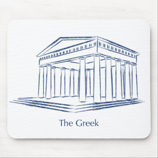 The Greek Mouse Pad
