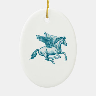 The Greek Myth Ceramic Ornament