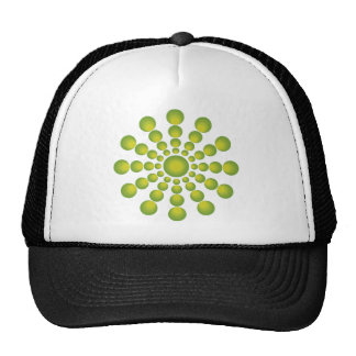 The Green 70's year styling Trucker Hat