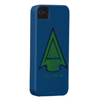 The Green Arrow Head in blue ipone 4 cases