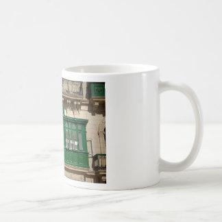The green balcony coffee mug