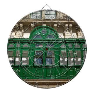 The green balcony dartboard