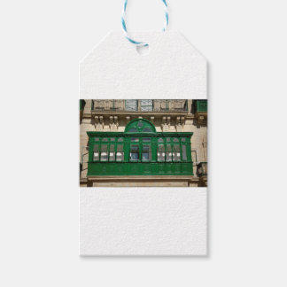 The green balcony gift tags