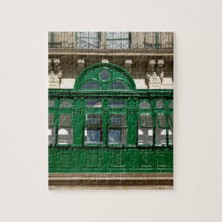 The green balcony jigsaw puzzle