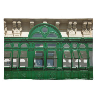 The green balcony placemat