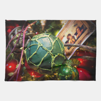 the Green Ball - kitchen towel