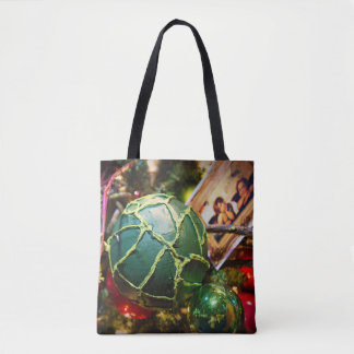 the Green Ball - tote bags
