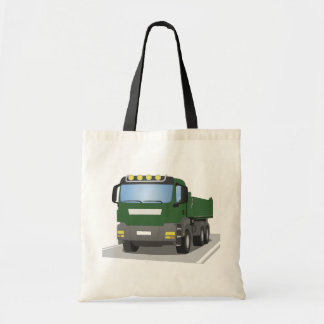 the Green building sites truck Tote Bag