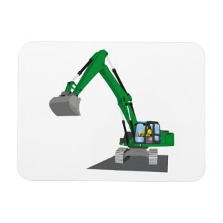 the Green chain excavator Magnet
