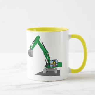 the Green chain excavator Mug